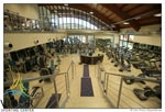 La palestra del Vigor Sporting Center di via Grotta di Gregna 100