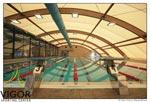 Una piscina del Vigor Sporting Center di via Grotta di Gregna 100