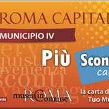 IV Municipio, una Card con sconti del 20%
