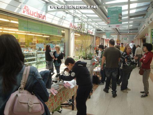 Didattica presso il Centro Commerciale Auchan di via Collatina