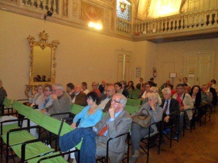 Incontro a Perugia con il poeta e giornalista Vincenzo Luciani
