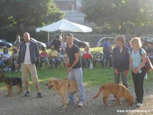 I vincitori di 'A sei zampe nel parco' 2012