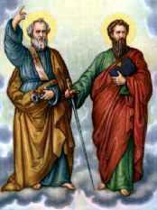 29 giugno, Roma festeggia S. Pietro e Paolo