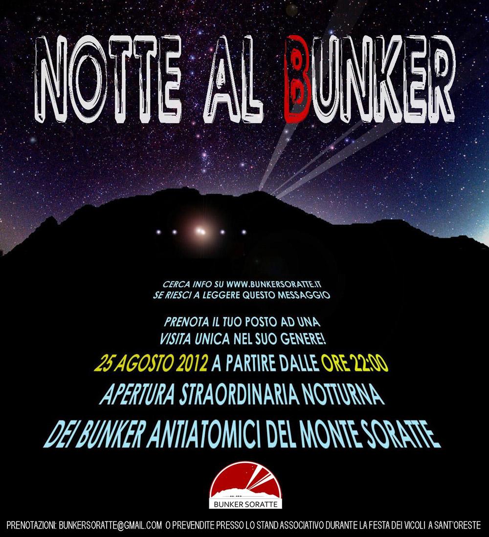 Notte al Bunker