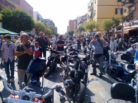 Roma Centocelle-Ostia. Pedalata di solidarietà col Comune di Mirandola