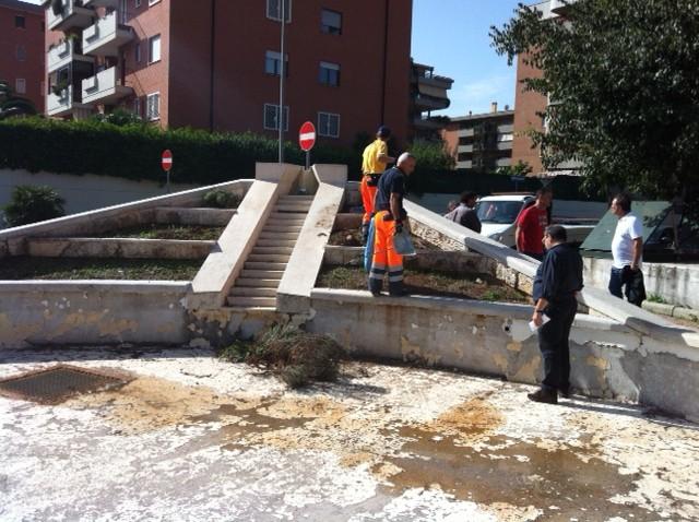 Al via manutenzione fontane a Fonte Laurentina