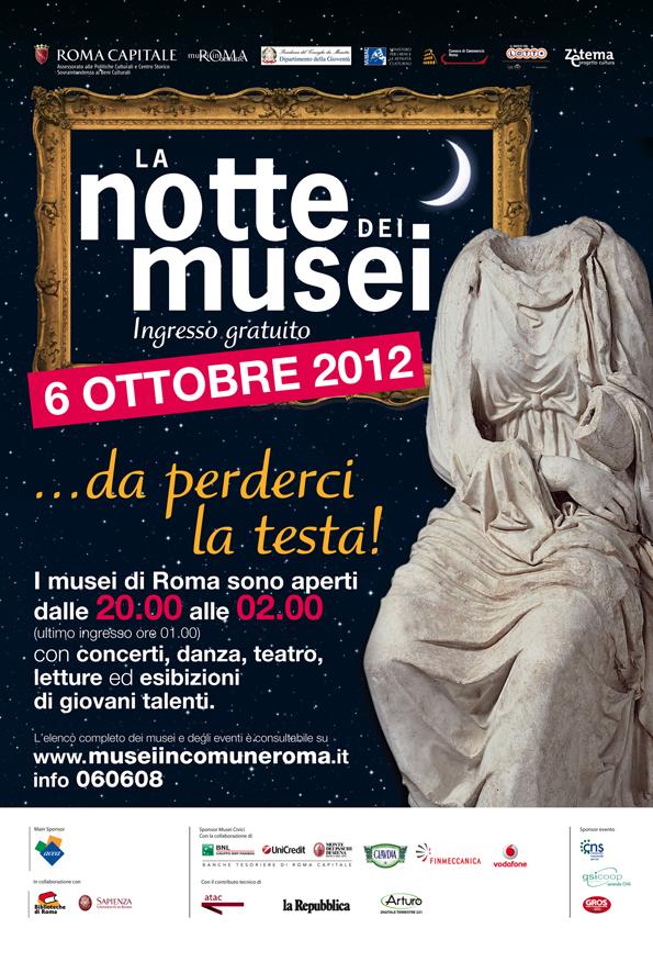 """Roma, torna la """"Notte dei Musei"""""""