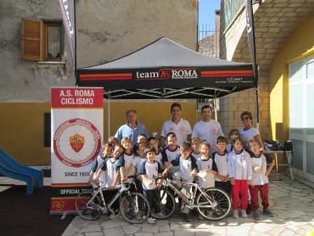 All'istituto scolastico Opera pia Taddei una nuova materia: la bicicletta