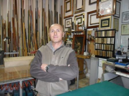 Fraboni, un'attività artigianale storica nel vetro e nel legno