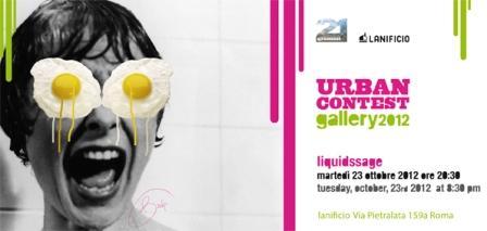 "Apre la mostra ""Urban Contest Gallery 2012″"