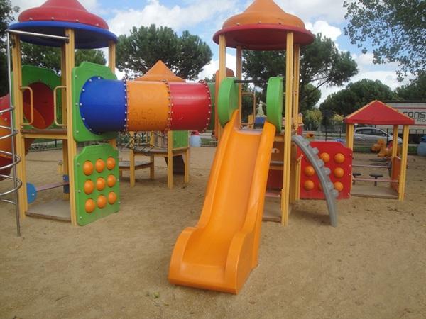 Nessun atto vandalico al Parco giochi di via Turano a La Rustica
