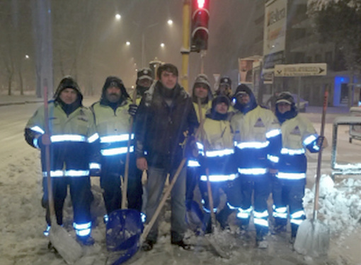 Bonelli parla delle cifre sull'emergenza neve
