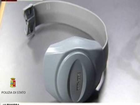 Arriva il braccialetto elettronico per i detenuti ai domiciliari