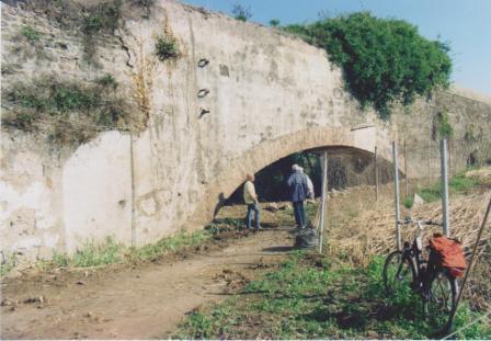 Proseguono i lavori fra il Parco degli Acquedotti e il Parco di Tor Fiscale