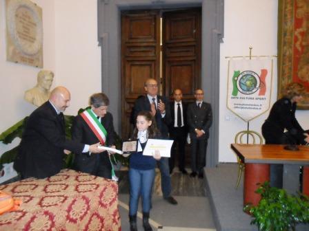 Il sorriso di Federica Cavallaro splende in Campidoglio