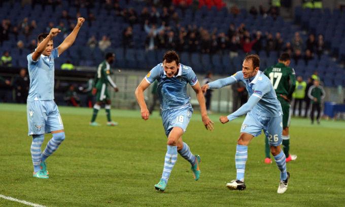 Lazio, tris di coppe. Sconfitto il Panathinaikos 3-0