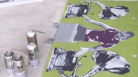 La Street Art approda nella sede Rai di Roma