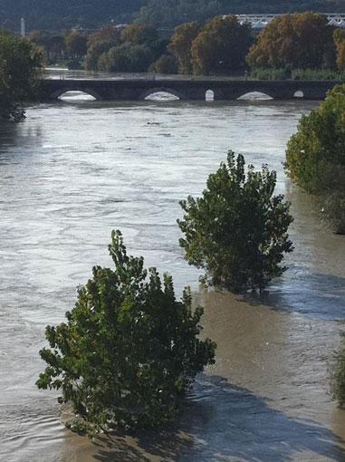 Tevere: Roma, oltre 500 ettari a rischio idrogeologico molto elevato