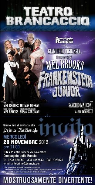 Frankenstein Junior, il musical debutta al Teatro Brancaccio