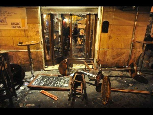Assalto antisemita contro gli inglesi a Campo de Fiori
