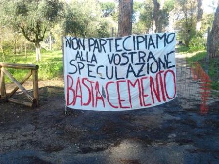 A Rebibbia Occupy parco. Il quartiere si riprende il Casale