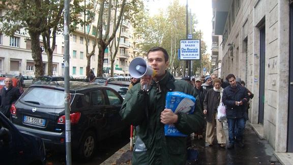 Cittadini protestano contro il degrado nel II Municipio