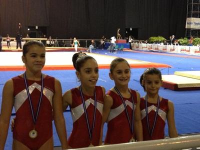 La Ginnastica Romana alle finali nazionali di campionato
