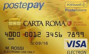 Arriva Carta Roma