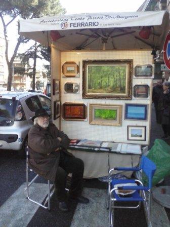 I pittori di via Margutta in trasferta a Monte Sacro