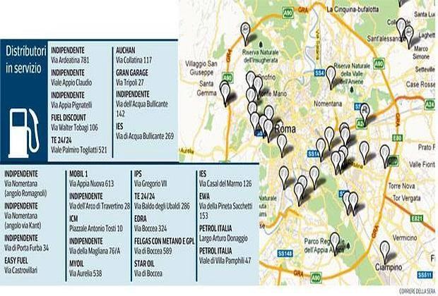 Confermato lo sciopero dei benzinai: distributori chiusi dall'11 al 14 dicembre 2012