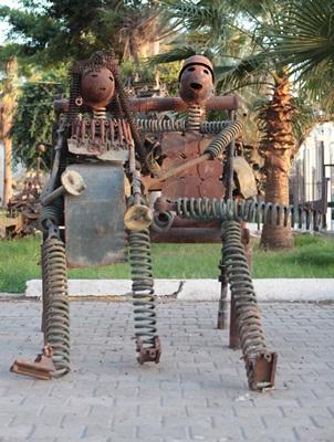 Una nuova Libia in 'Anime di Materia'