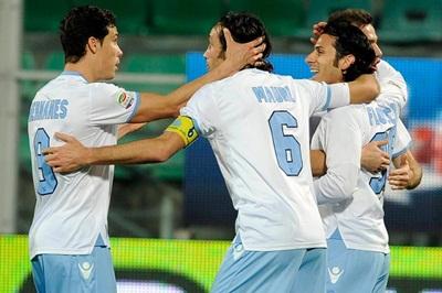 Lazio (2 a 2, a Palermo), buona la media inglese