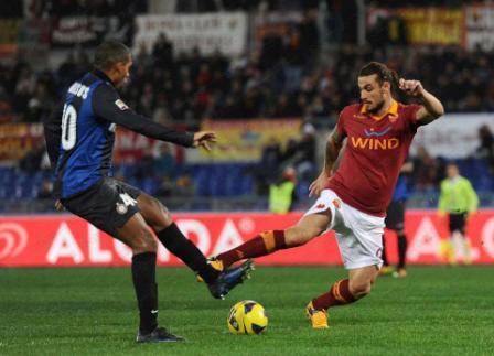 Roma – Inter: 1-1, Totti e Palacio firmano il pari