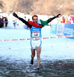 Andrea Lalli campione europeo di cross parteciperà alla 19^ Maratona di Roma