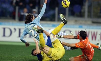 La Lazio si ferma con il Chievo
