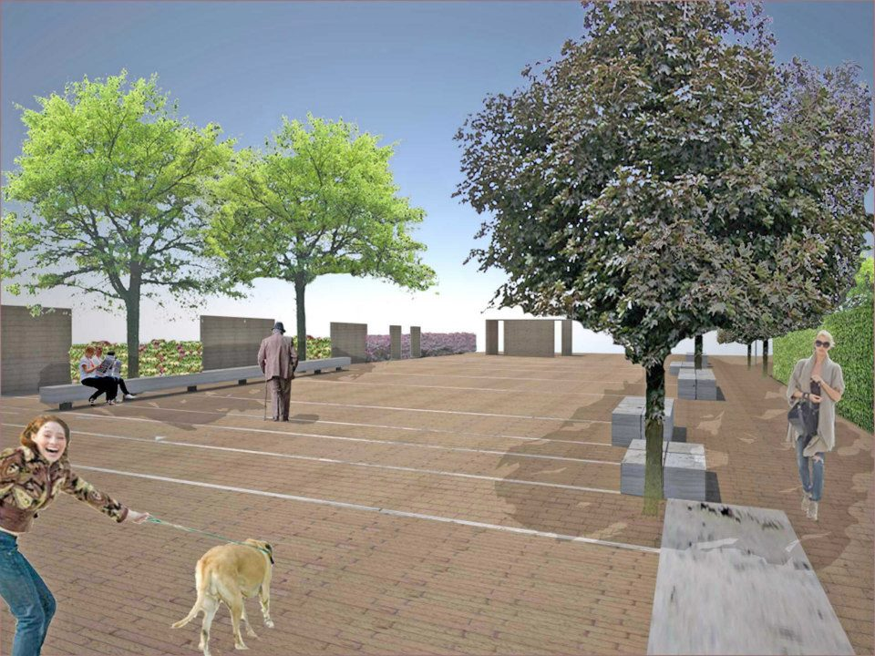 Pantan Monastero: le prime immagini della nuova piazza