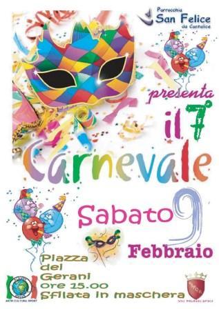 """Carnevale a Centocelle """"Fantasia in maschera … """""""