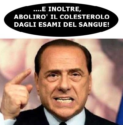 Berlusconi promette la restituzione dell'Imu