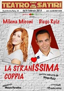 """""""La stranissima coppia"""" al Teatro dei Satiri"""