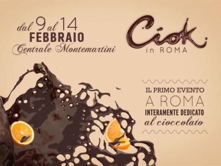 """Roma diventa la 'fabbrica del cioccolato' con """"Ciok in Roma"""""""