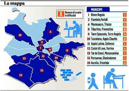 La Capitale delle scuole fatiscenti