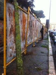 Plance Elettorali in via Nostra Sig.ra di Lourdes