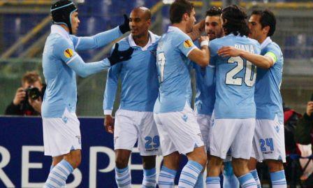 Lazio 2-0 al Borussia con reti di Candreva e Gonzalez