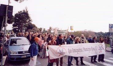 Marcia di protesta per la tutela del verde pubblico all'Eur e non solo