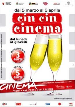 Brindisi di cinema nella Capitale