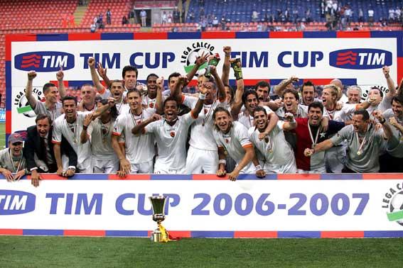 La Coppa Italia 2007 è della Roma. E sono 8