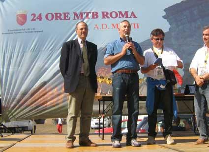 Grande successo per la 24 ore di Mountain Bike Roma 2007