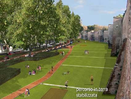 Presentato ai cittadini il progetto del Parco integrato urbano delle Mura aureliane