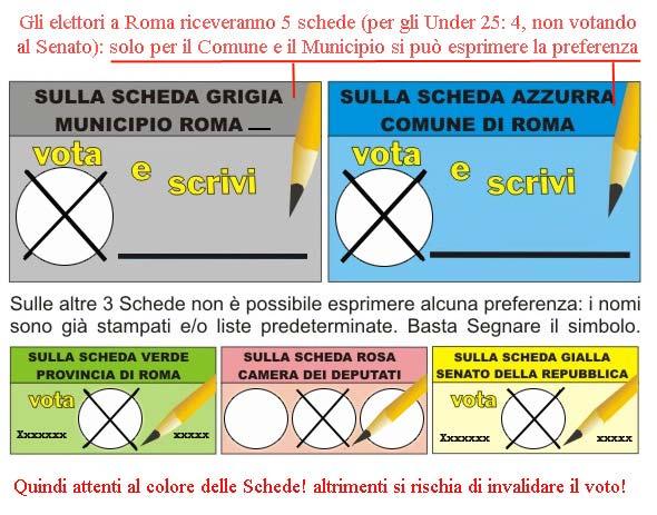 Elezioni politiche ed amministrative 2008 a roma for Senato della repubblica diretta