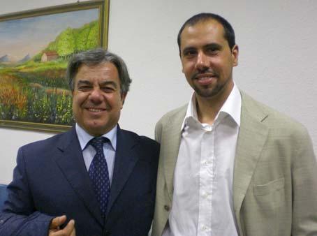 Massimiliano Pirandola è il presidente del consiglio del XIX Municipio